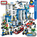 Building Blocks City Vehicle Police Station Bricks Educational Toys airplanes building bricks City Friends Kids Christmas gifts