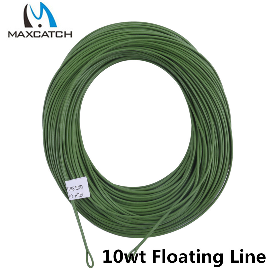 Maxcatch 10wt weight forward floating fly fishing line for Floating fishing line