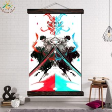 One Piece Roronoa Zoro Anime Modern Wall Art Print Pop Picture And Poster Frame Hanging Scroll Canvas Painting