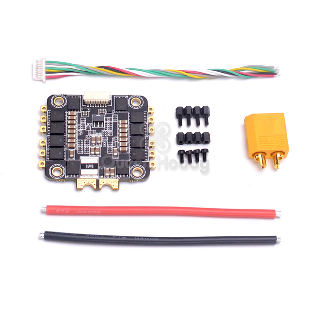 US $24 55 15% OFF|Special Edition REV35 35A BLheli_S 2 6S 4 In 1 ESC Built  in Current Sensor for Wizard X220 X220S Spare Parts-in Parts & Accessories