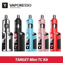 100% Original Vaporesso OBJETIVO Mini TC Kit de Cigarrillo Electrónico 40 W VW/VT (Ni, SS, Ti) 1400 mAH Batería Mod y 2.0 ml Tanque de Tutor