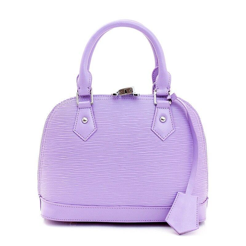 MZORANGE sacs en cuir véritable les plus chauds pour les femmes 2018 sacs à main de luxe femme serrure sac femmes sacs Designers de marque 2018