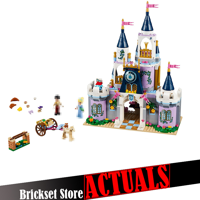 цены Lepin 25014 Dream Castle House Princess Castle Building Blocks Bricks Enlighten Toys For Girls Gift Model Compatible with 41154