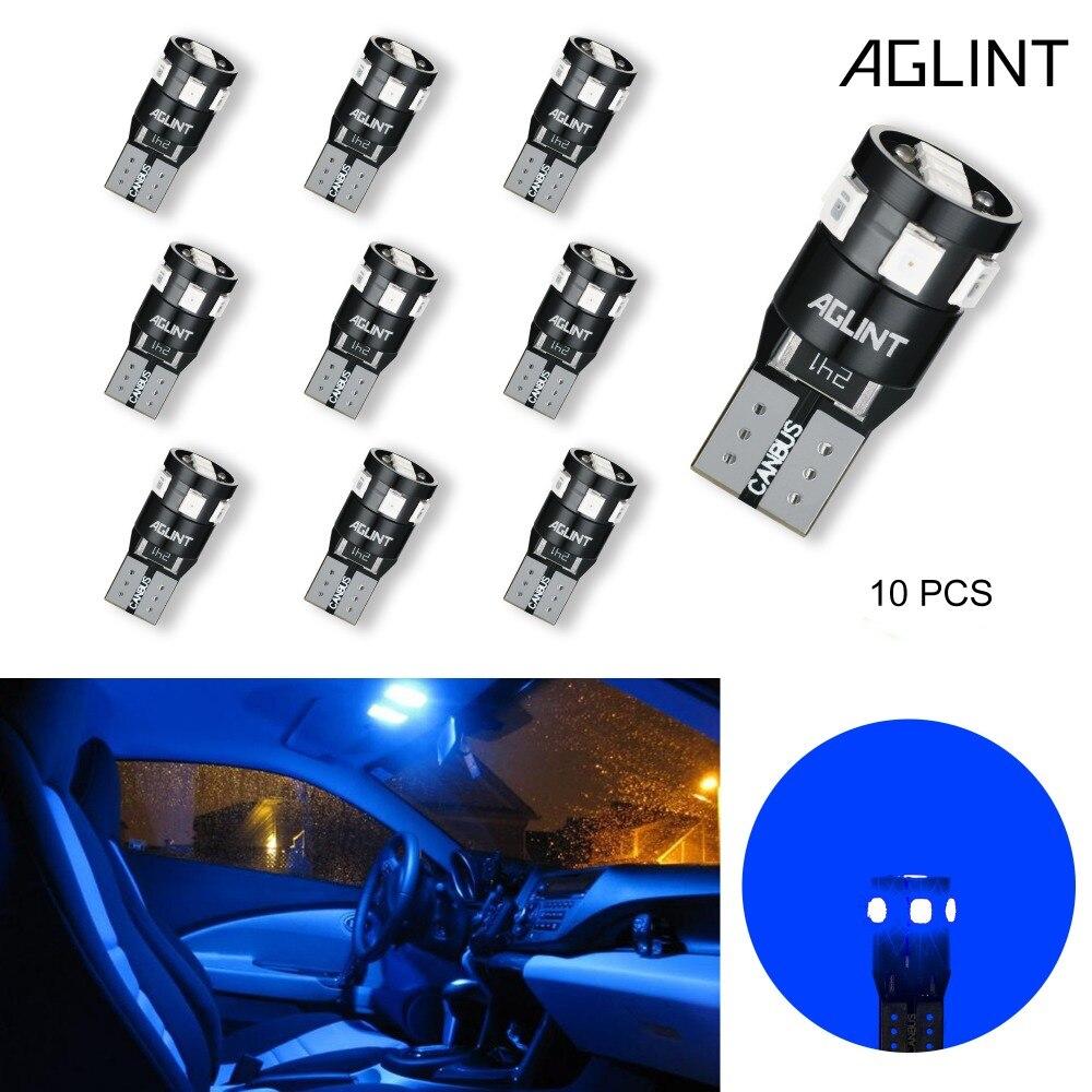 Audi TT 8J 501 W5W Blue Interior Courtesy Bulb LED High Power Light Upgrade