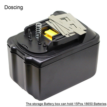 BL1860 электродрель печатная плата Батарея хранения Коробки с BMS для MAKITA BL1845 BL1860 литий-ионный Батарея Пластик случае