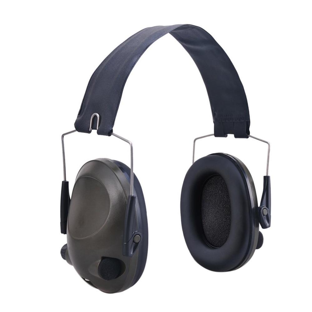 Anti-bruit Militaire Tactique Bouche-Oreille Sport Chasse Tir Oreille Défenseurs Audience Protéger Oreilles Avec 3.5mm Audio Jack