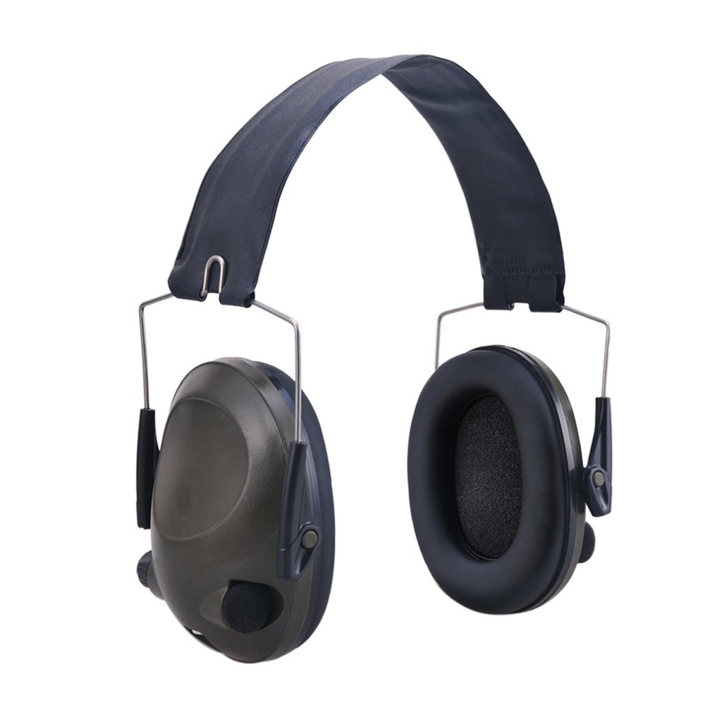 Anti-noise Military Tactical Earmuff Sport Hunting Shooting Ear Defenders Hearing Protecting Earmuffs With 3.5mm Audio Jack 3m h6p3e cap mount earmuffs hearing conservation h6p3e ultra light with liquid foam filled earmuff cushions e111