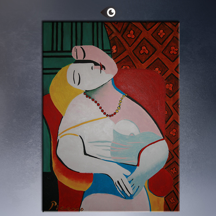 free shipment museum art print nude pablo picasso fine masterpiece abstract canvas printschina