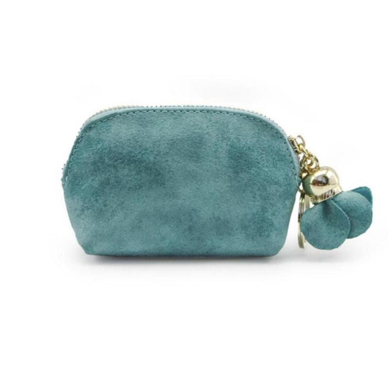Small Wallet for Girls Change Purse Bag Cute PU Leather Solid Coin Purse Zipper Mini Clutch Simple Women Pouch Coin Wallets 1