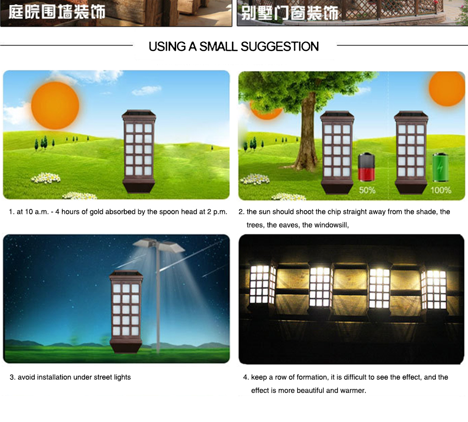 Cheap led solar light