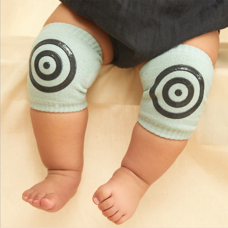 Baby Crawling Socks Leg Knee Pad Protector Newborn Infant Leg Warmers Boy Girl Toddler Safety Cotton Kids Elbow Pad Beenwarmers