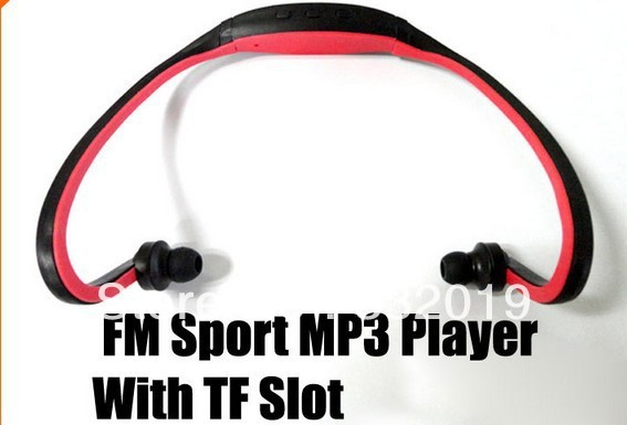 Free shipping!!!New Arrived hot sports  mp3.support 8GB TF card mp3 Player with FM function, mirco SD player .