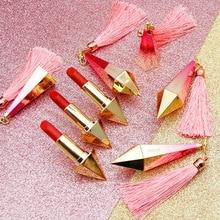 NOVO Fashion Diamond Brighte matte Lipstick Waterproof Long-Lasting lips tint Pi