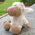 NICI 25cm Pink Flower Sheep Stuffed Plush Toy, Baby Kids Doll Gift Free Shipping