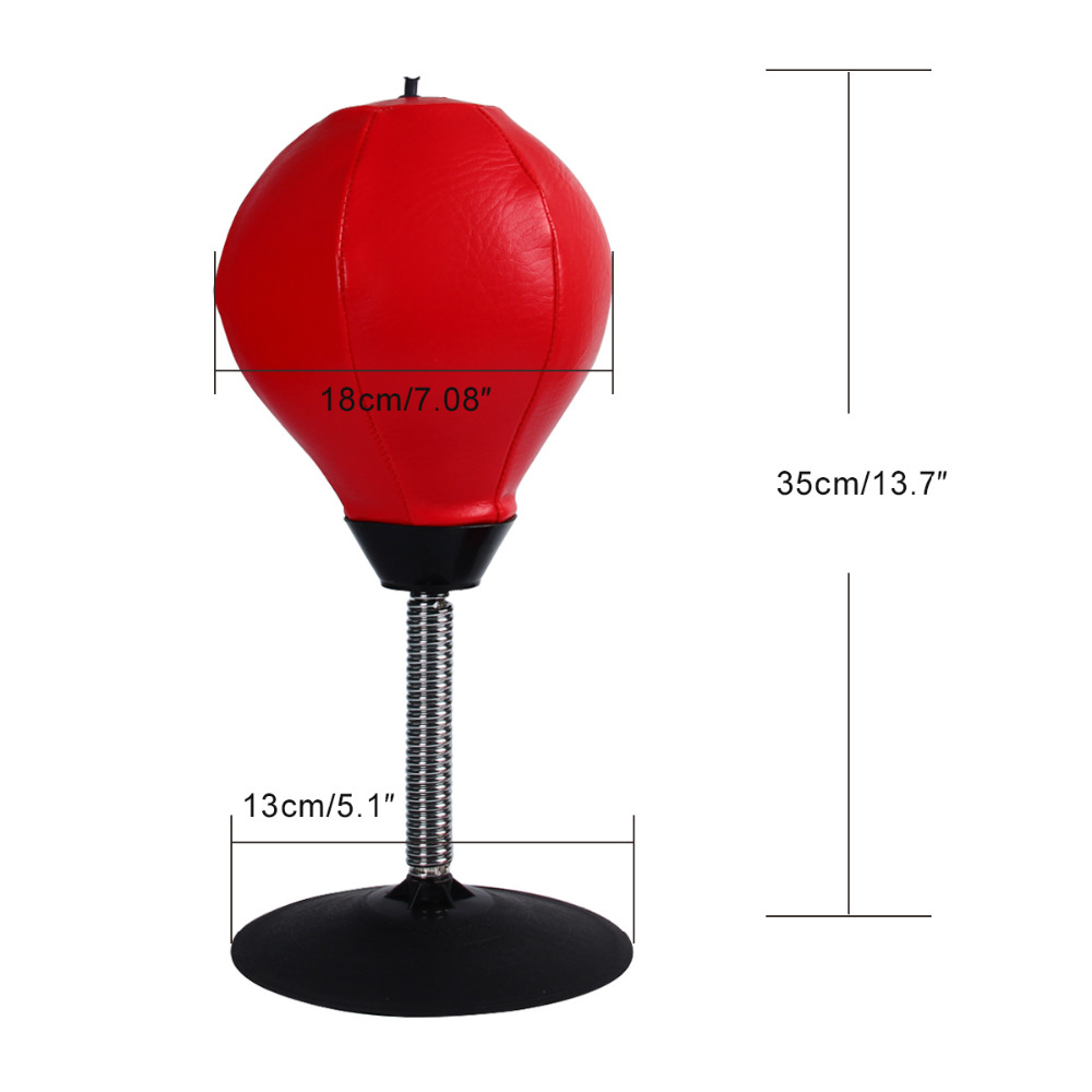 Desktop suction cup punching bag 1
