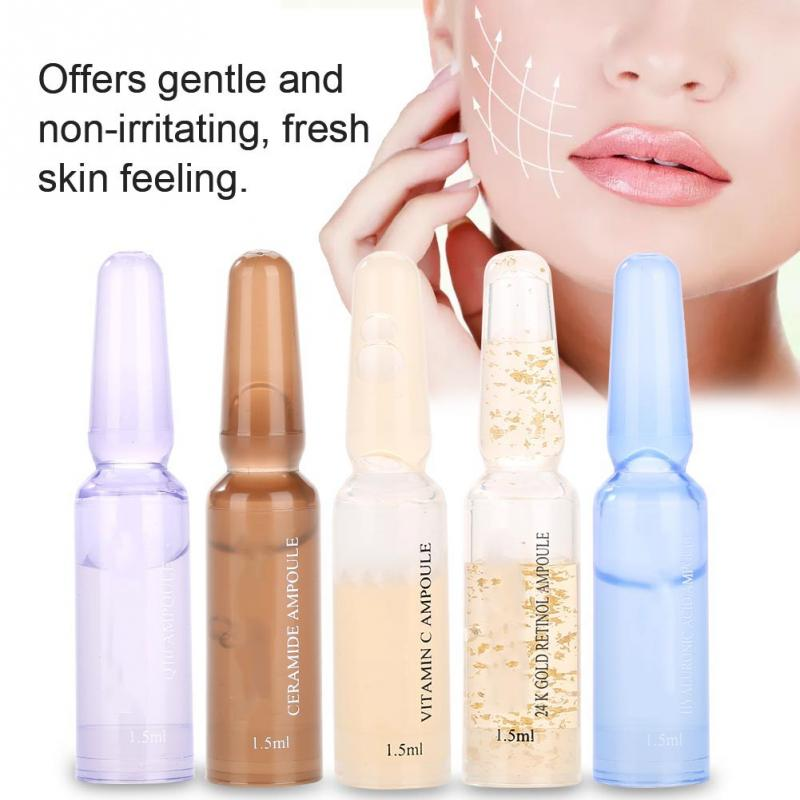 Medical Skin Care: 7pcs/set Face Skin Care Ampoule Serum Anti Wrinkle