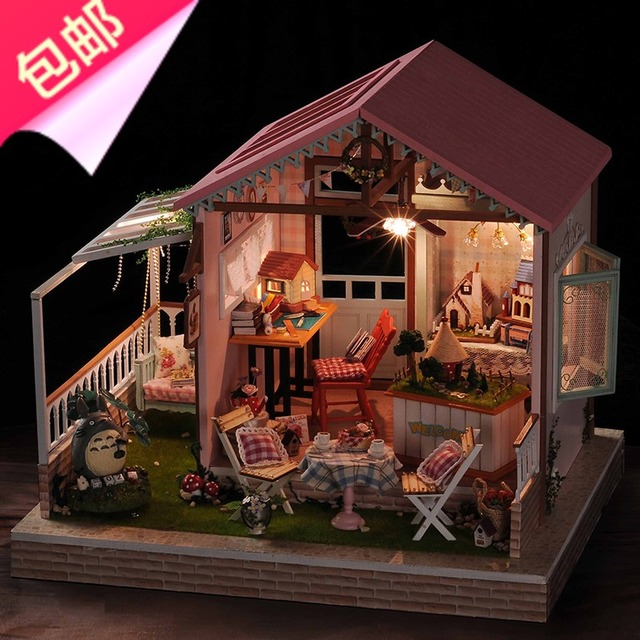 DIY Hut Educational Toys Send Girls Assembled Students 8 9 10 12 Years Old Daughter Birthday Gift Ideas
