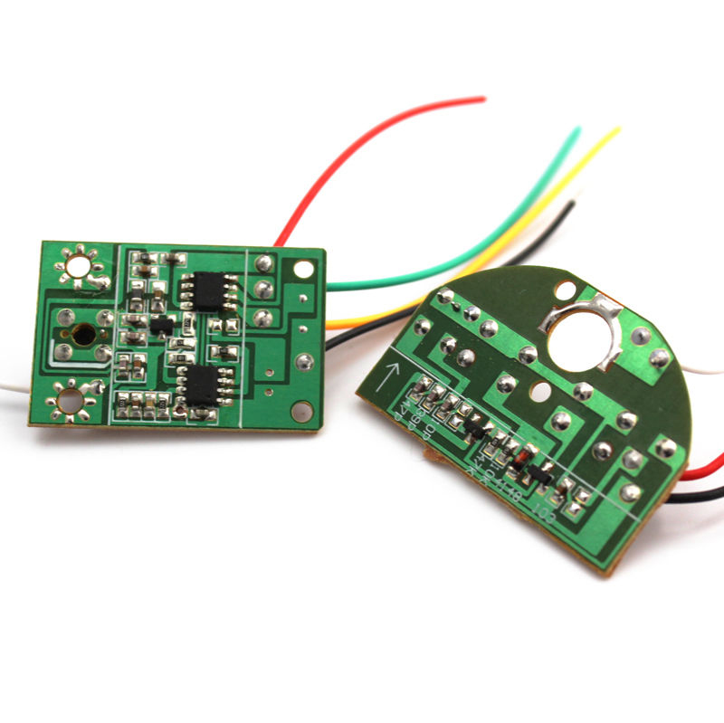 2CH 27MHZ Remote Transmitter /& Receiver Board with Antenna for DIY RC Car Robot