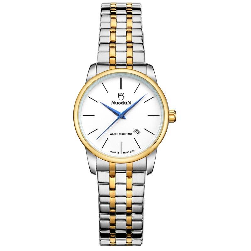 Fashion Women Designer Watch Complete Calendar Waterproof Geneva Women Stainless Steel Casual Branded Watches Dames Horloges