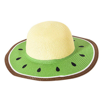 SUOGRY Summer New Pattern Cute Watermelon Wind Brim Leisure Beach Ladies Cap Women Holiday Sun Hat