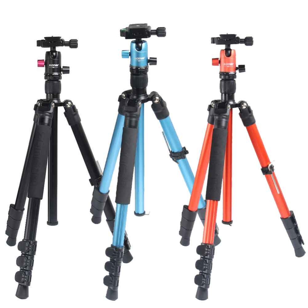 Zomei Portable Professional M3 Camera Tripod Monopod Aluminum Alloy Stand With Ball Head For DSLR Photographic