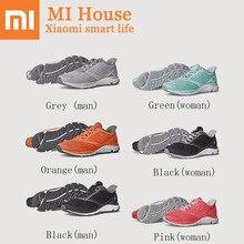Xiaomi Amazfit умная обувь Mijia уличная спортивная обувь ERC материал Резина поддержка смарт-чип кроссовки для мужчин и женщин