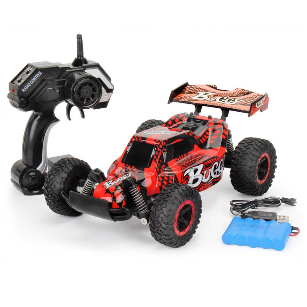 Electric Car RC Car Remote Control Trucks Bigfoot Cars Climbing Off-road Truck Toys Vehicle 1:16 Rechargeable 4WD 2.4ghz 50km/h