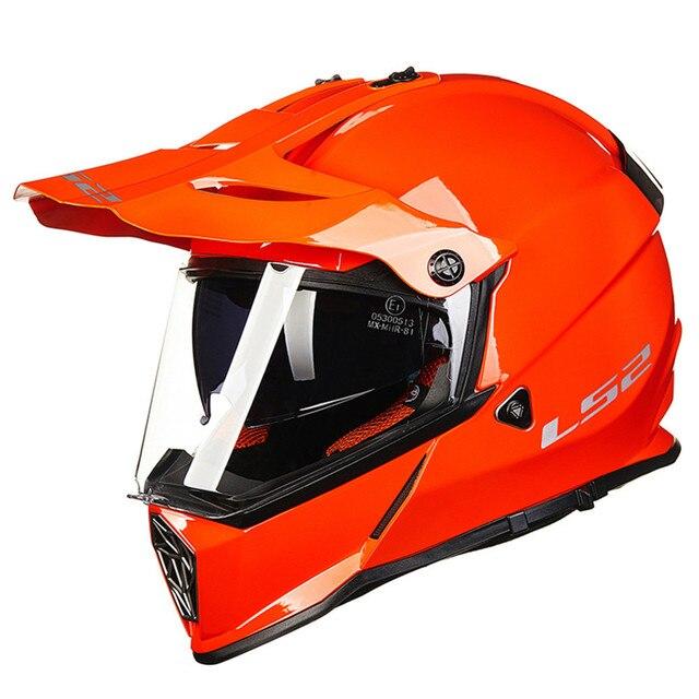 82b46bb2ede LS2 Dual Sports MX436 PIONEER Motorcycle Helmet Motocross Off Road Biker  Casque Casco Moto Capacetes de Motociclista