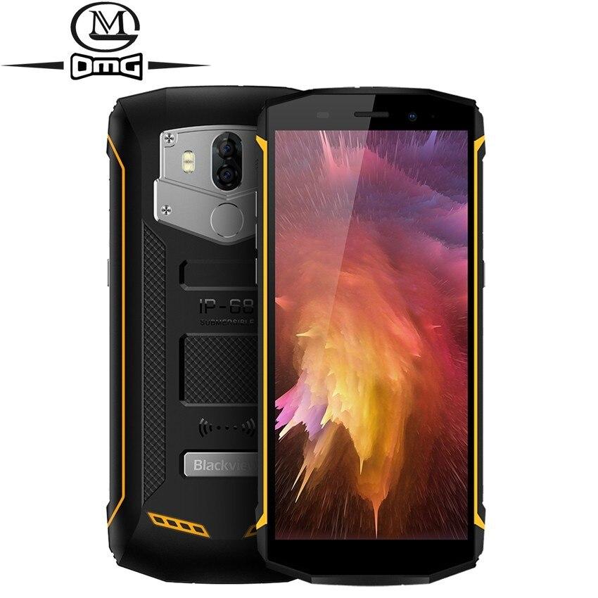 Blackview BV5800 pro IP68 étanche 4G Smartphone sans fil Charge 5580 mAh MT6739 5.5
