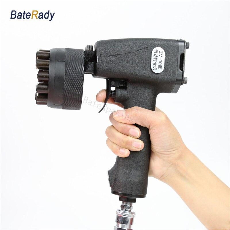 Zm 10 Baterady Portale Pneumatic Impact Marking Machine