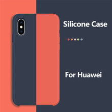 Phone Case For Huawei Honor 10 Case Silicone Original Protection Cover For Huawei Mate 20 20X P20 Lite Pro Case Back Cover Coque(China)