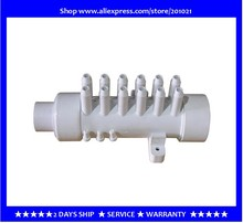 "1.5"" PVC Manifold water distributor with 12branches  12 barbs PVC air Manifold 11.5mm air distributor for bathtub hot tub spa"