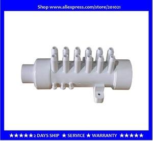 Image 1 - Distribuidor de agua de colector de PVC de 1,5 pulgadas, 12 ramas, 12 púas, colector de aire de PVC, 11,5mm, distribuidor de aire para bañera, bañera de hidromasaje, spa