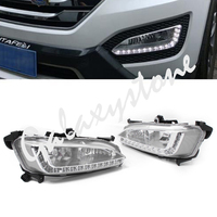 For Hyundai / IX45 Santa Fe 2013 2014 LED Daytime Running Lights DRL White