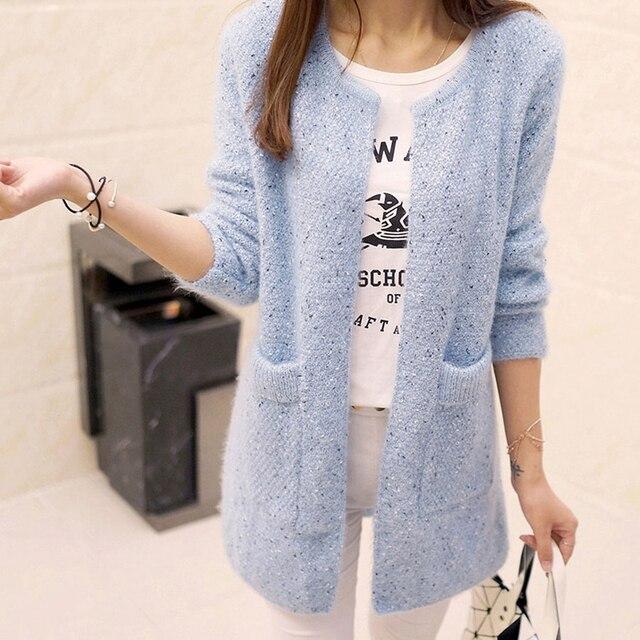 Aliexpress.com : Buy 2017 Long Cardigan Women Sweater Spring Fall ...