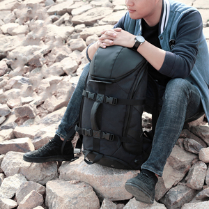 Image 2 - OZUKO marka mężczyźni podróży o dużej pojemności 15.6 cal laptopa plecak mężczyzna wielofunkcyjne górskie plecaki torby sportowe na zewnątrz