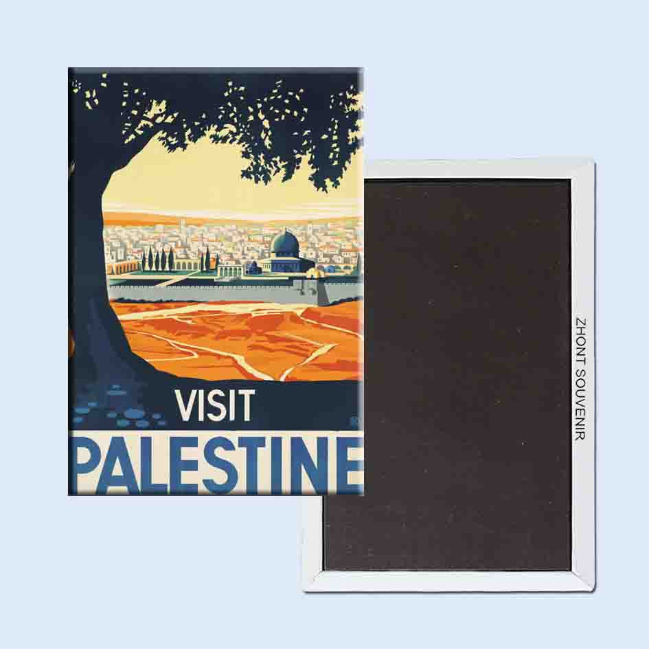 Visit Palestine 24182 Retro nostalgic fridge magnets