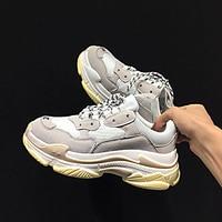 Harajuku Men Shoes 2019 Spring Vintage Dad Sneakers Men Breathable Mesh Casual Shoes Men Chunky Tenis Masculino Adulto Sneakers