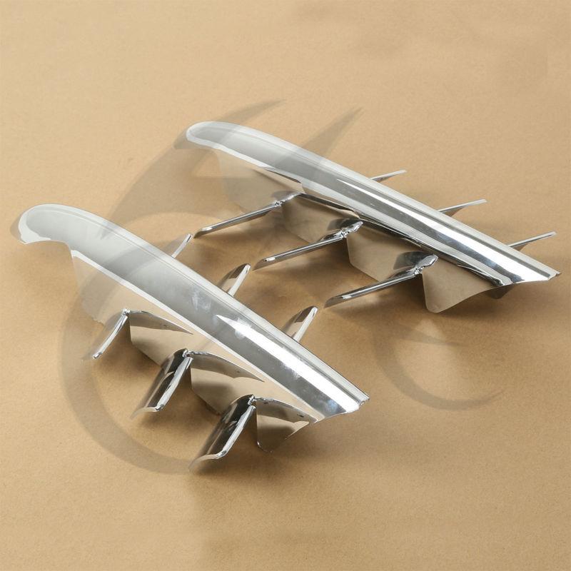 Chrome Shark Gills tisztító akcentusok a Honda Goldwing GL1800-hoz - Motorkerékpár tartozékok és alkatrészek - Fénykép 3