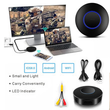 HD 1080P HDMI + AV WIFI Display Wireless Mirroring DONGLE Support DLNA Miracast Airplay Mirror Adapter Converter for IOS Android