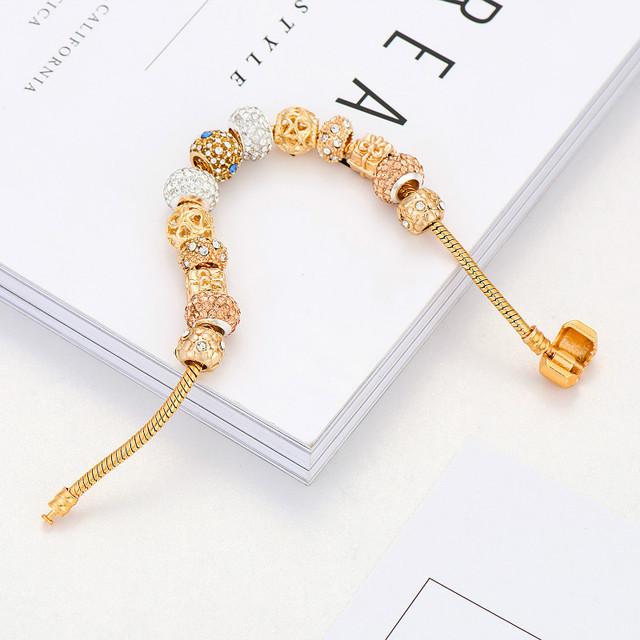 Bransoletka Poshfeel Gold Charm