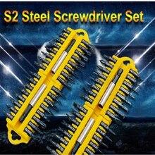 цена на 17pcs Security Tamper Proof Torx Hex Star Bit Set Magnetic Holder Screwdriver Bits Torx Hex Star Tamper Proof Screwdrivers Bit