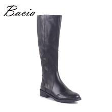 Bacia Зимние шерстяные ботинки мех и короткие плюшевые ботинки внутри теплая обувь женские из натуральной нешлифованной кожи ручной работы каблуки 3,5 см сапоги России MC020