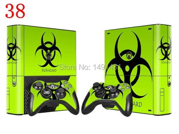 OSTSTICKER Vinyl Skin Sticker Protector for Xbox 360 E + 2 controller skins Stickers for XBOX 360 E