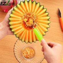 Diy fruta helado Dig Ball cuchara Baller surtido fríos herramienta sandía melón cuchillo cortador Gadgets LPT7806