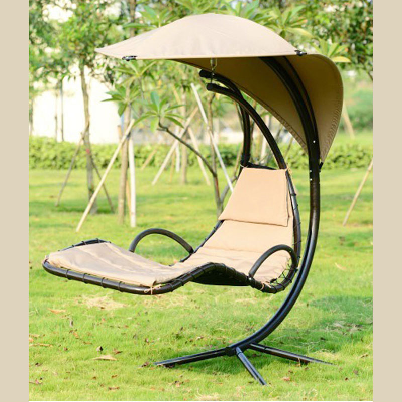 outdoor canopy chair lee industries dining chairs furniture hanging basket with rain swing covered balcony