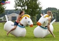 Надувные пони хмель отказов дерби лошадь для взрослых и детей для верховой езды спортивные игры для продажи