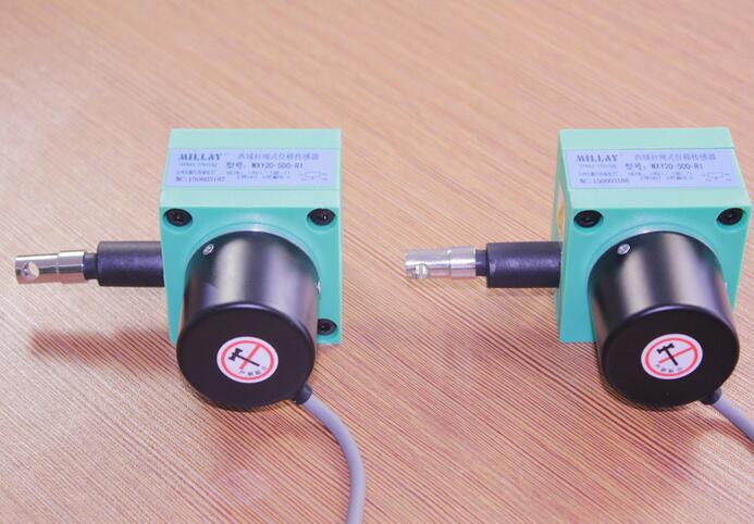 Tirez la corde encodeur déplacement capteur câble capteur tirer corde capteur interrupteur capteur règle électronique par défaut 0-3000mm gamme.