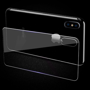 Image 5 - 0.3mm 9H 2.5D Tempered Glass for iPhone X Xr Xs Max 7 Plus screen protector iphone 6 6S 7 8 Plus front and back Protective Film
