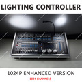 New DMX512 1024P Light Console Midi Trigger Sound Light Synchronization Advanced Grouping Stage Lighting Controller 120 Dimming